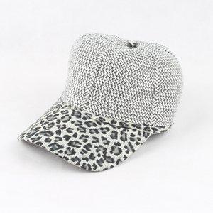 FURANDOWN новый летний тканые бумаги бейсболка женщины Леопард Snapback шляпа для женщин casquette gorras