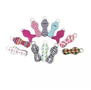 Neopren Chapstick Halter Keychain Mädchen Chapstick Lippenstift Keychain Für Verkauf Geschenk Bevorzugungen Valentines Geschenk Durable 300pcs