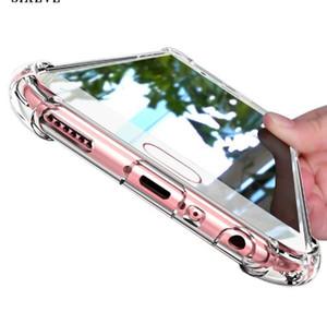 Süper Darbeye Temizle Silikon Kılıf Samsung galaxy A3 A5 A7 Için 2017 S6 S6 S7 kenar J3 J5 J7 Not 8 9 cep Telefonu Kapak Samsung S8 S9 Artı