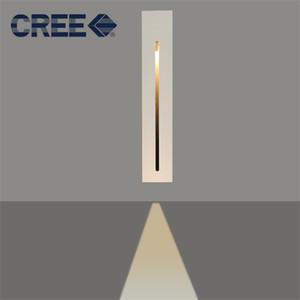 Retangle встраиваемые светодиодные торшеры 2 Вт терраса лестничное освещение светодиодный свет шага крытый встраиваемые настенный светильник AC100-240V белый черный footlight