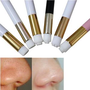 Глубокая чистка носа стиральная кисти поры чистой щеткой шелушиться угрей акне моющее средство деревянной ручкой макияж инструмент