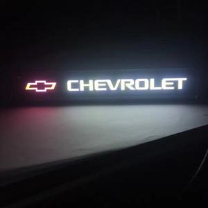 Chevrolet chevy логотип свет стайлинга автомобилей эмблема передний капот гриль решетка капот