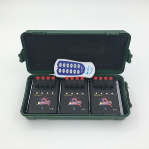 12 Cue Wireless Fireworks Firing Steuerungssystem Ausrüstung + Fernbedienung Feuer Steuergeräte + Programmierbare Fernbedienung + Party Hochzeit System