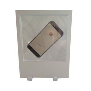 Basamento acrilico trasparente 18 * 23cm della visualizzazione della sospensione della collana 3D del telefono della scatola di presentazione dei gioielli della grande di dimensione acrilica dei monili Trasporto libero