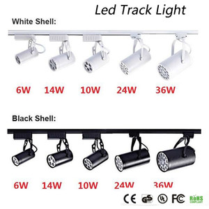 DHL CE ROHS UL Led Parça Işık 6 W 10 W 14 W 24 W 36 W 120 Işın açısı Led Tavan Spot AC 85-265 V led spot aydınlatma