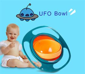 Top qualité outil de non-déversement Toddler Gyro Bowl 360 degrés rotation bébé éviter la nourriture renversement bol nourrisson alimentation apprentissage Plats