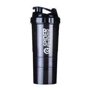 Créatif Protéine Poudre Shake Bouteille Mélanger Bouteille Sports Fitness Bouilloire Protéine Shaker Sports Bouteille D'eau