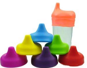 Nouveau silicone couvercles de couvercle en silicone qualité FDA doux élasticité en silicone pour les enfants tasse verre tasse bouchon de pipette en silicone