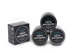 DHL / UPS Uso Quotidiano Teeth Whitening Scaling polvere orale igiene pulizia imballaggio Premium Attivato Denti carbone di bambù polvere bianca