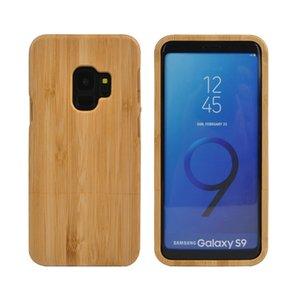 레트로 스타일 자연 나무 케이스 삼성 갤럭시 S9 플러스 S8 S7 가장자리 S6 나무 대나무 휴대 전화 커버 케이스 아이폰 X 10 7 8 PLUS 6 6S 5