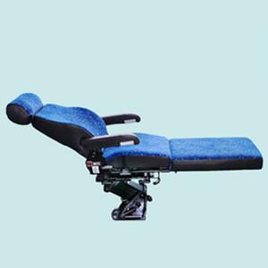 Tren için sürücü koltuğu bir Grande Vitesse, Mekanik Süspansiyon Şok Aadjustablbsorber, w / Kolçak, Kafalık, Ayarlanabilir, Dönebilir, Recliner