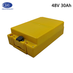 48V 30Ah Batterie au lithium Utiliser origine japonaise 18650 batterie 30B vélo électrique batterie 13 Série 48V + 2A Chargeur Livraison gratuite