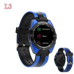 """Оригинал L3 смарт-часы 1.54 """" поддержка монитор сердечного ритма Bluetooth вызов спорта на открытом воздухе off-line Alipay 9.9 мм тонкий Спорт смарт-часы"""