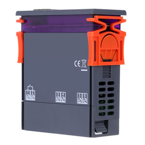 Livraison gratuite thermomètre numérique 250V 10A thermorégulateur régulateur de température pour incubateur Thermocouple -50 ~ 110 degrés + capteur