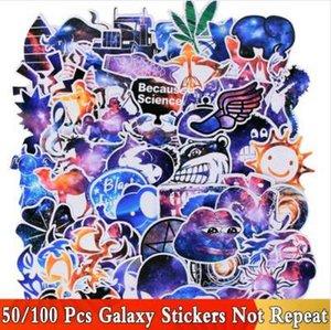 50/100 PCS Galaxy Style adesivi misti Divertente JDM Kid fai da te Laptop Skateboard Bagagli auto giocattolo bicicletta auto impermeabile