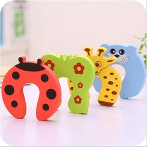 Baby Safety Door Stoper Animal Cartoon Safety Guard Infant Baby Security Guard Children Safety Gates Avoid Smashing Fingers LM40