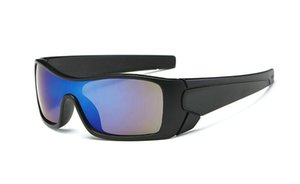 Neuer BRAND heißer Verkauf Mann-im Freiensport-Sonnenbrille radfahren Sonnenbrille 9 Farbenart und weise blenden Farbenspiegel Fashion Style Eyewear