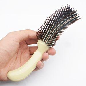 تشيفان فرش الشعر للبيع فرشاة الشعر مشط أفضل مجموعات فرشاة S الشكل للماكياج تصفيفة الشعر السائبة رقيق