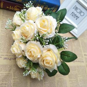 Роза моделирование с букетами, цветочные украшения, оптовые свадебные украшения