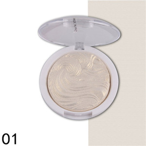 MISS ROSE New Baked Glitter Powder Primer Oil-Control Face Makeup Bronzer Highlighter Contour Powder Highlight Cosmetics