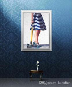 켈리 Reemtsen 뒤로 예술 작품을 던지다 Art Print Poster Photopaper 16 24 36 47 인치
