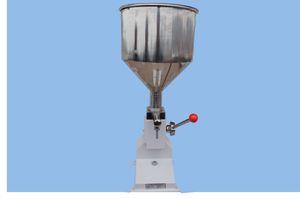Précision liquide de remplissage manuel de Paste, Machine manuelle de remplissage liquide (5-50ml), A03 liquide machine de remplissage manuel