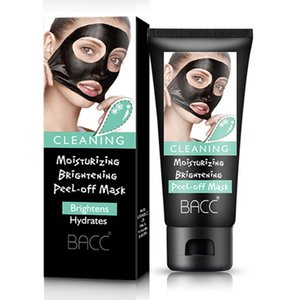 BACC Blackhead Remover Moisturising Keratin Repair Bamboo Charcoal Hydrating Face Clean Mask Peel Off Black Facial Mask