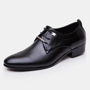 Dedo apontado sapatos formais para homens sapatos de casamento para homens 2019 mens sapatos de escritório preto brown business casual tamanho grande sepatu pria ayakkab