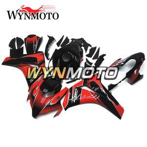 Мотоцикл ABS пластик инъекции полный обтекатель комплект для Honda CBR1000RR 2008 2009 2010 2011 CBR 1000RR кузова глянец красный черный обвесы
