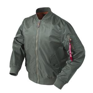 Coole hochwertige Ma1 Armee grün taktische militärische Uni Flug Windjacke Pilot Air Force Bomber wasserdichte Jacke für Männer