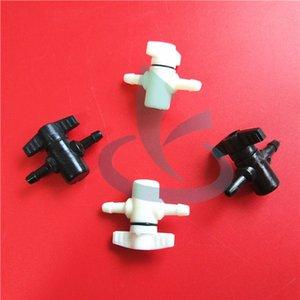 30pcs Grande formato sistema di inchiostro CISS stampante valvola manuale 2 vie per valvole Flora Mimaki Roland Eco solvente / stampante
