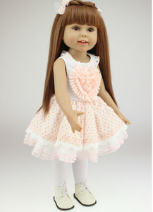 American Girl Doll Princess Doll 18 Inch 45cm,Soft Plastic Baby Doll Plaything Toys For Children