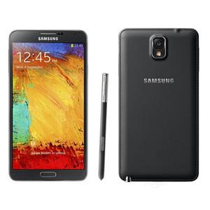 الأصلي تم تجديده Samsung Galaxy Note 3 N900A ROM 32G Android 4.3 رباعية النواة 13MP كاميرا الهاتف الذكي