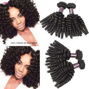 Perulu Kıvırcık Saç Afro Kinky Kıvırcık 3Bundles İşlenmemiş Perulu Bakire Saç Afro Dalga Kıvırcık Perulu Bakire Saç Paketler Fiyatları