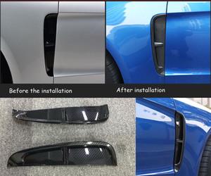 Углерод Цвет Side Fender Hood Air Vent воздухозаборной решетки, пригодный для Porsche Panamera 2017-2018