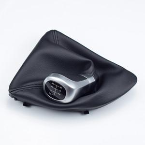 Für BMW 1 3 5 6 Series E84 E85 E87 E88 E90 E91 E92 E93 Z3 X1 5/6 Geschwindigkeit Schalthebel Leder Schaltknauf Perforierte Boot-Abdeckung