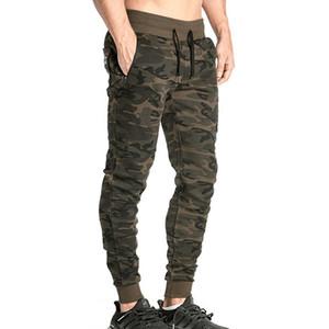 Venta caliente Pantalones de camuflaje de los hombres Ropa de gimnasia Pantalones de running Hombres Ropa deportiva al aire libre Comprssion Pantalones deportivos