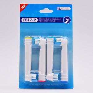 Nuevo diseño para cabezas de cepillo de dientes eléctrico para la venta de alta calidad cuidado bucal cepillos de dientes cabezas de reemplazo compatible 4 unids / pack envío gratis