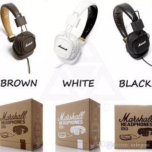 뜨거운 판매 마샬 주요 헤드폰 클론 마이크와 함께 깊은베이스 DJ Hi-Fi 헤드폰 HiFi 헤드셋 전문 DJ 모니터 헤드폰