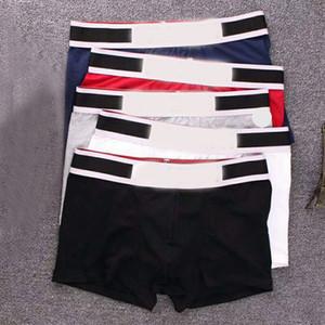 5 PC / Los Mann-Boxer-Unterwäsche Shorts für Männer Adult Cotton Sexy Unterwäsche beiläufige kurze Breathable Male Cueca Boxer HommeGay Unterwäsche