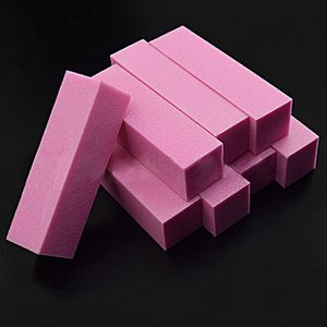 10Pcs Nail File Buffers Block Sanding Sponge Grinding Polishing UV Gel Nail Polish File Manicure Art Tools
