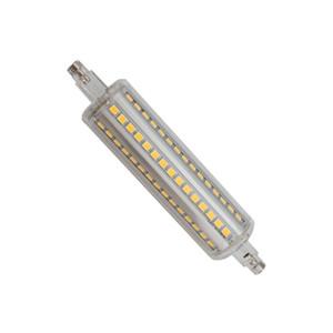 R7s condotto 10W luce del cereale R7S lampadina 800LM SMD2835 72 calcolatore AC 90 - 265V R7S doppia luce fine