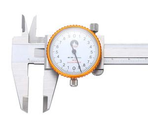 Freeshipping набора суппорт 0-150мм 200мм 300мм / 0.02mm штангенциркуль из нержавеющей стали ударопрочного метрической микрометр Калибровочные Измерительные инструменты