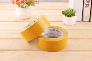 Warning box packing tape express sealing box transparent tape custom wholesale width 4.5 thick 2.3cm 2016
