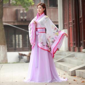 Ancienne dynastie Han traditionnelle QuJu Hanfu Costume pour les femmes avec Tailing impératrice Princesse Costume Bridemaid
