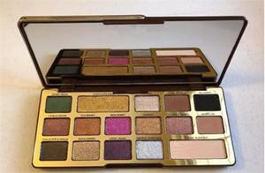 Neue Verfassungs-Palette !! Augen-Schatten-Gold 16 Farben Schokoladen-Augenschminke matte Schimmer natutal Palette DHL-Verschiffen