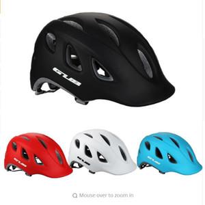 Прочный встроенный Велоспорт шлем безопасности ж / козырек в пресс-форме сверхлегкий 18 полостей качество PC + EPS MTB велосипед езда защита головы