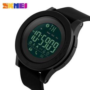 SKMEI мужчины Smart Watch калорий шагомер многофункциональный удаленной камеры 50 м водонепроницаемый цифровой мужские SmartWatch Relogio Masculino