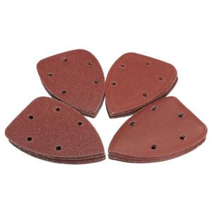 Freeshipping Sıcak Satış 40 Adet / grup Fare Zımpara Levhalar Diskler Zımpara için Siyah ve Decker Detay Palm Sander Için