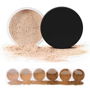 Makeup Face Loose Powder For Women Dark Skin Long Lasting Whitening Bronzer Contour Nude Base Foundation Setting Powder